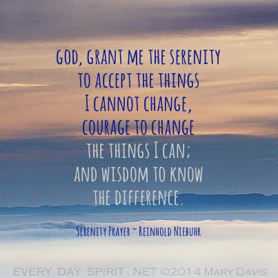Every Day Spirit Serenity Prayer Serenity Prayer Wallpaper Bible Quotes