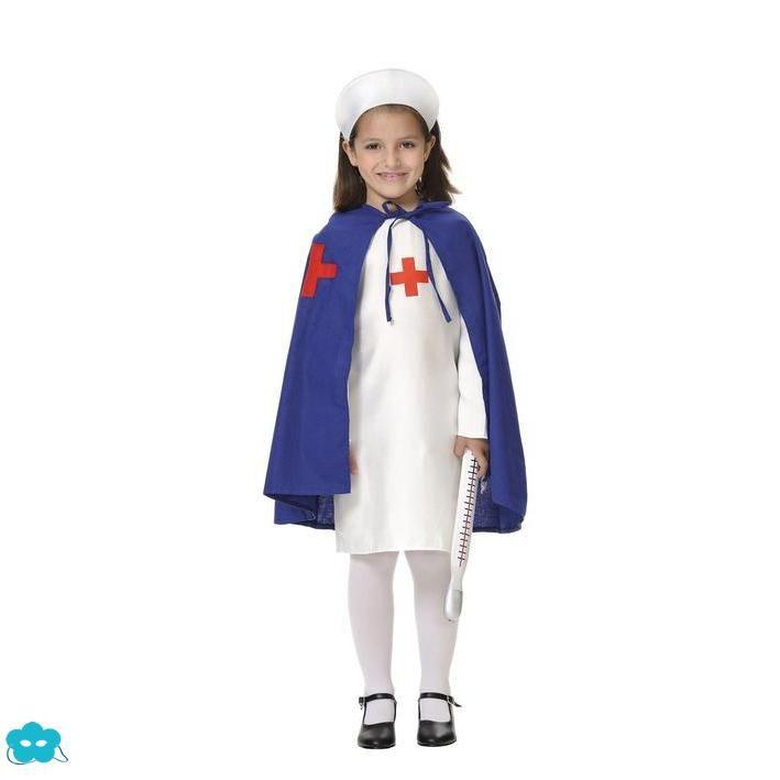 787ff3a26 Disfraz de enfermera clásica para niña | Disfraces de profesiones ...