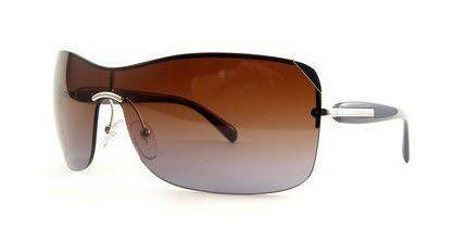 Prada PR59OS Sunglasses - 1BC/0A4 Silver (Brown Gradient Lens) - 139mm Prada. $203.00