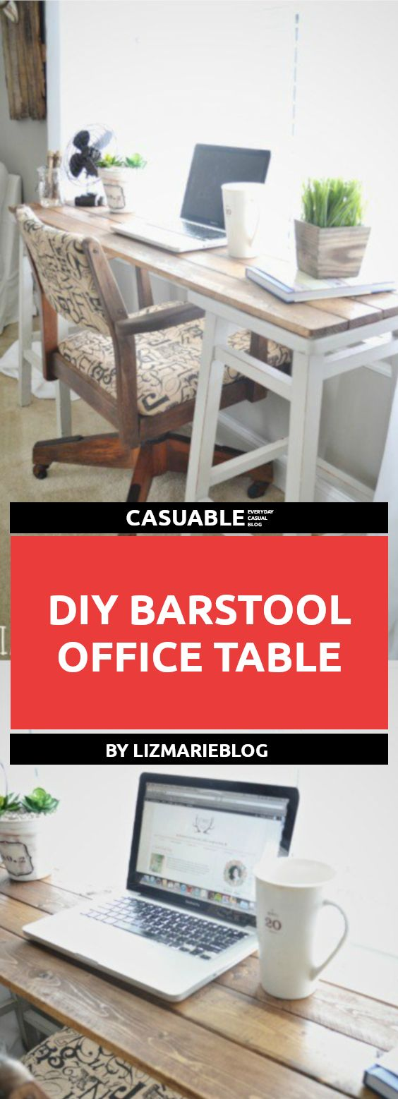 diy easy office desks to transfer your home to workplace