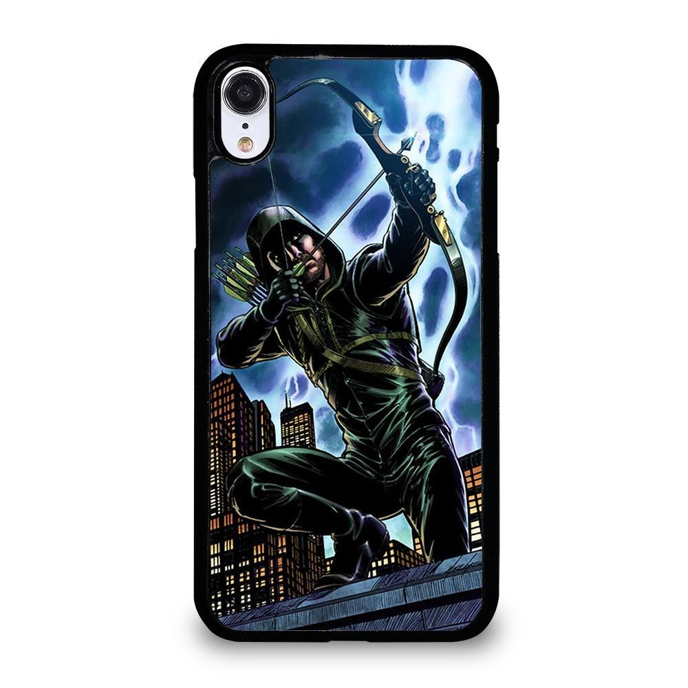Green arrow dc iphone xr case cover iphone cases case