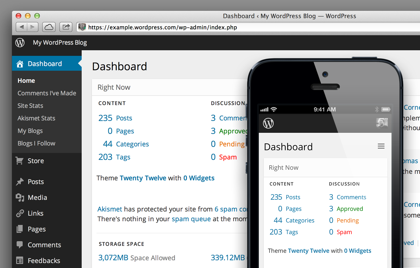 Preview the Future Design of the WordPress Dashboard | Dashboard ...