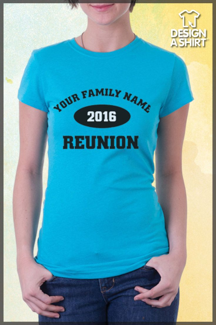 Design t shirt vistaprint - Need A Simple Family Reunion T Shirt Design We Ve Got This And