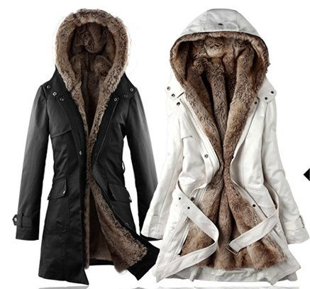 Aliexpress.com : Buy Fashion Women Cotton Coat faux fur Coats ...