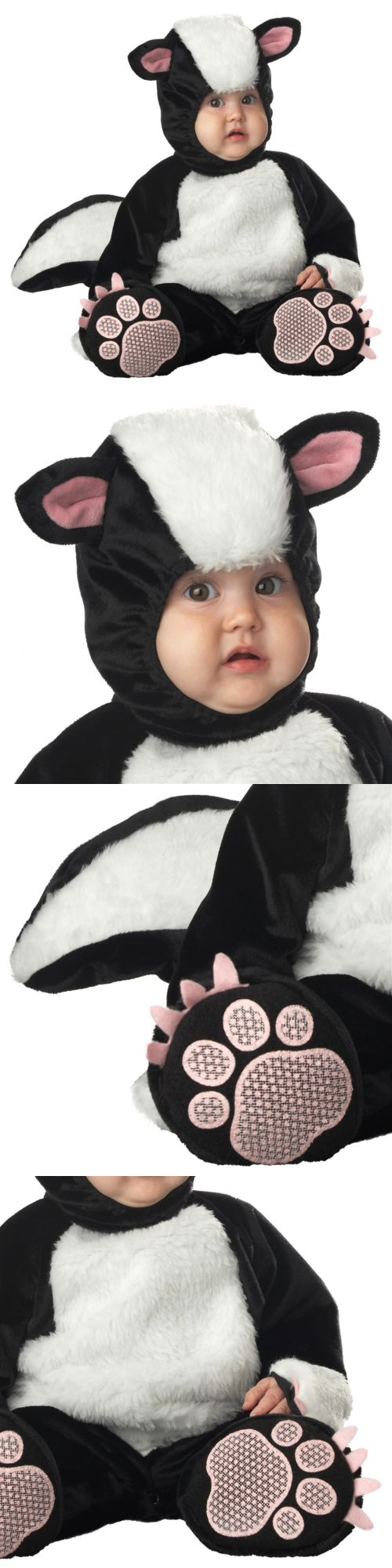 infants and toddlers 90635: skunk costume baby plush deluxe quality