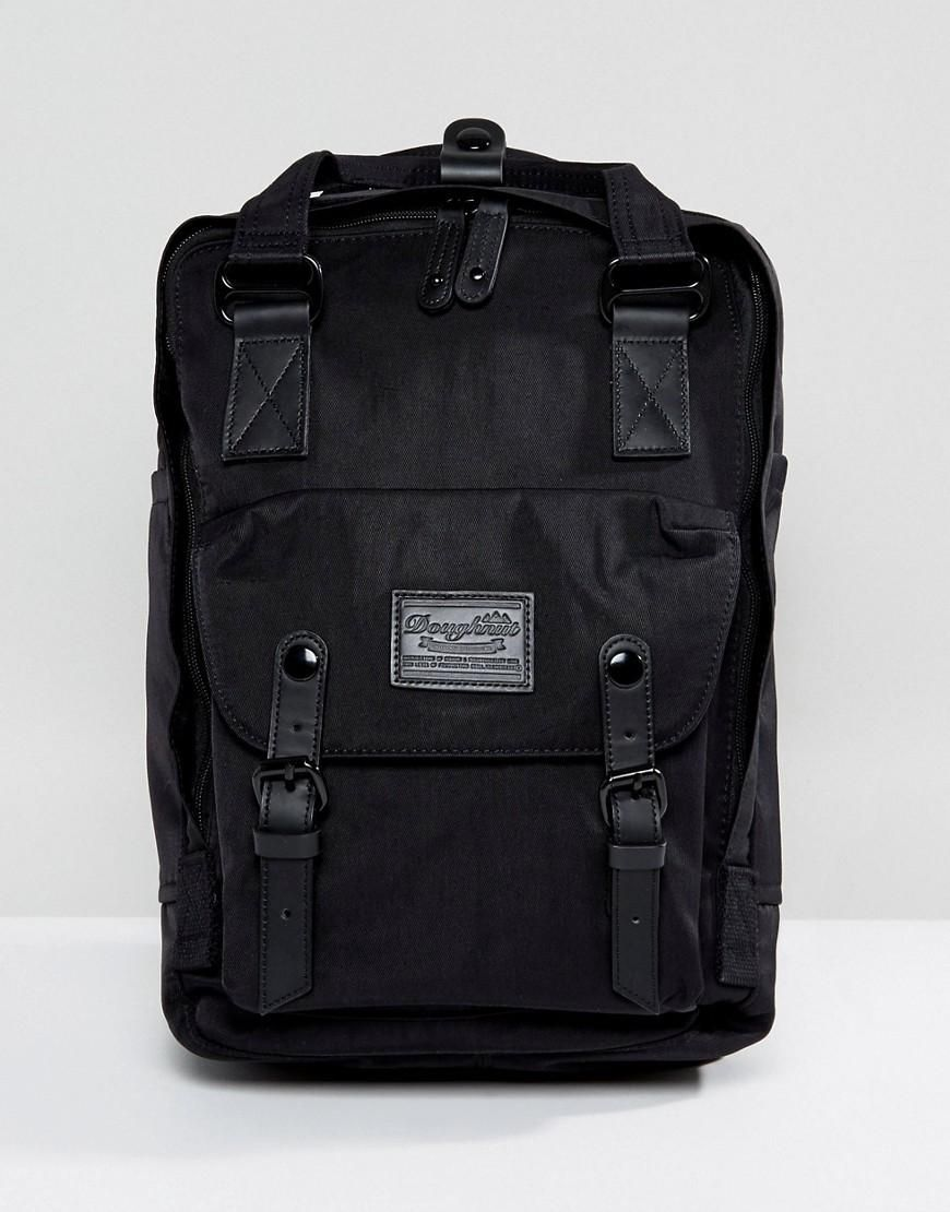 752ff15139  ASOS -  Doughnut Doughnut Macaroon Backpack in All Black - Black -  AdoreWe.com
