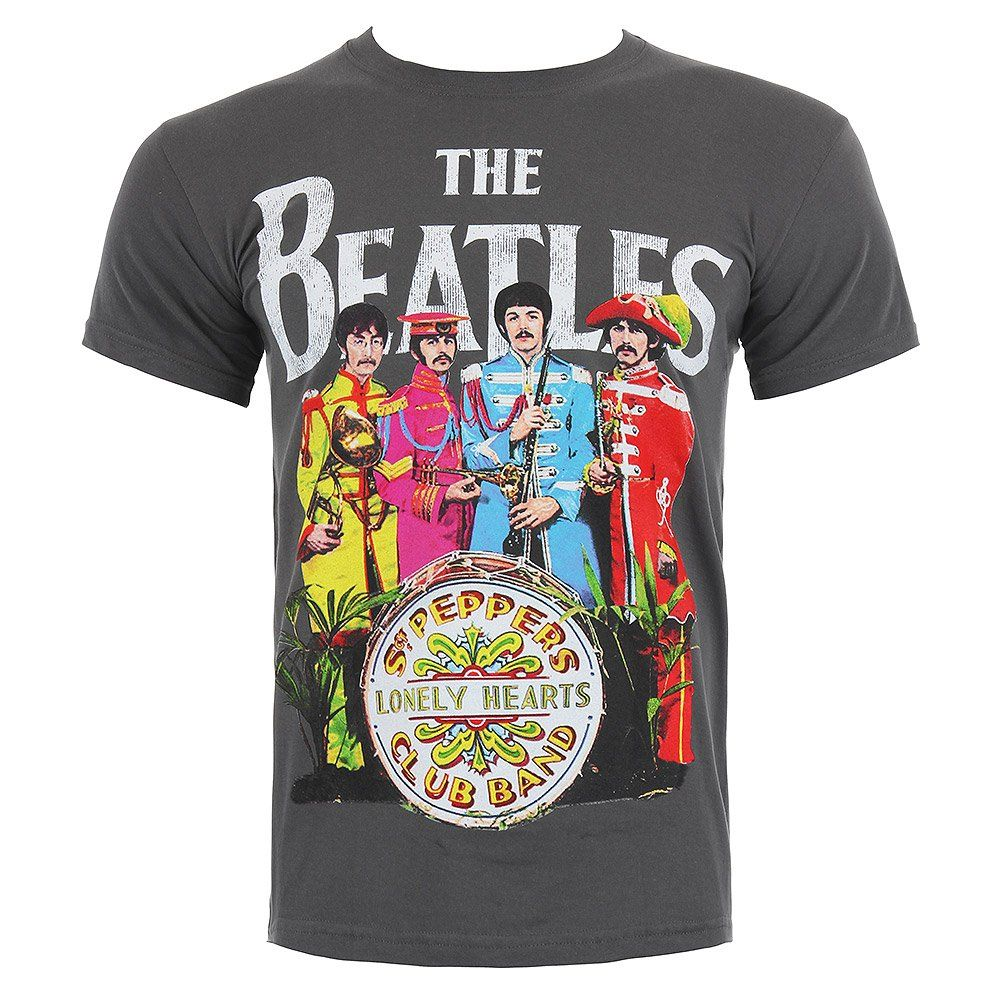 THE BEATLES HELP SUBLIMATION T SHIRT LENNON OFFICIAL LICENSED