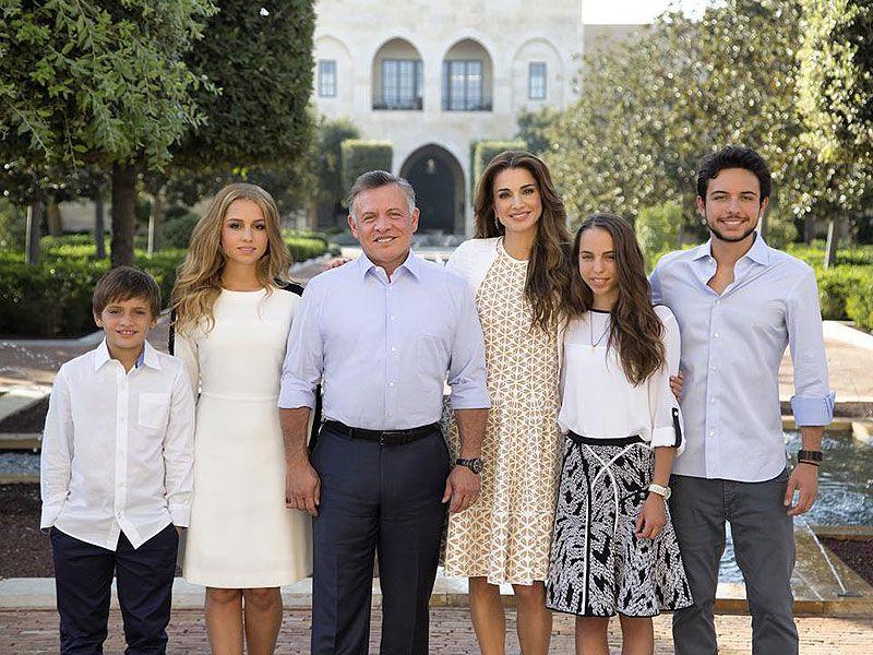queen rania and jordan royal family�s photo 2016 queen