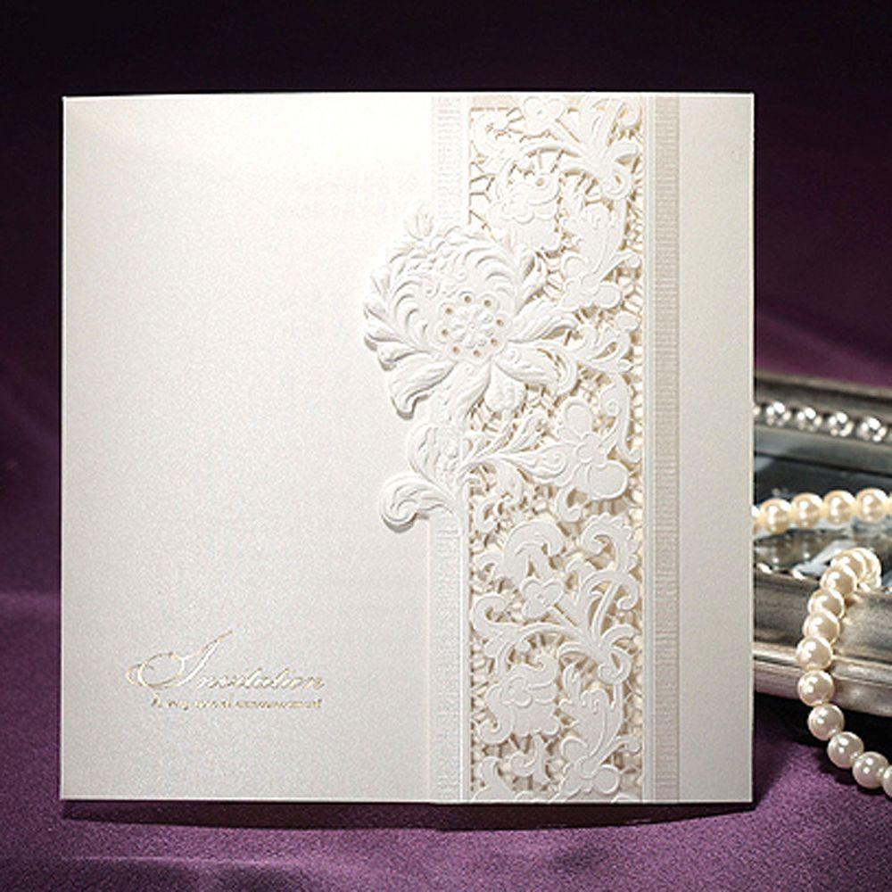 150 Set Premium BHands Card B0036 Antique Style Wedding Invitation ...
