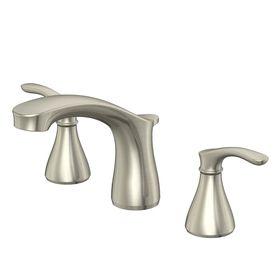 aquasource garner brushed nickel 2 handle widespread Aqua Source Sinks Website aquasource bathroom sink reviews