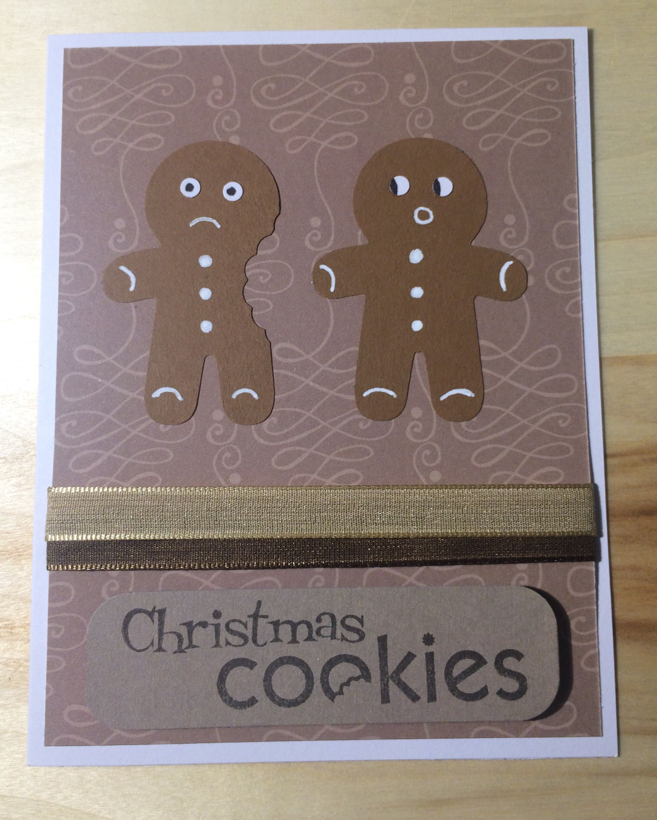 Cookie Cutter Punch Xmas Card