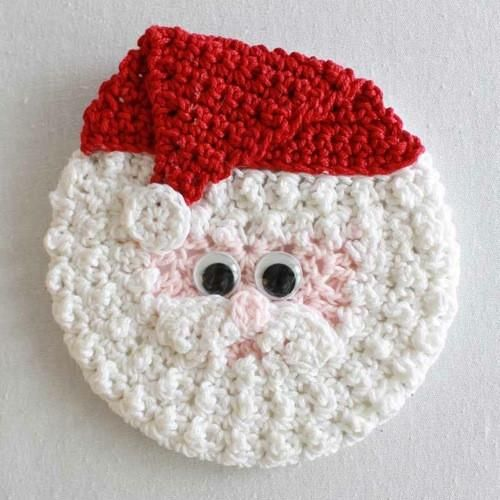 Holiday Cd Coaster Crochet Patterns Easy Patterns Yarn Needle And