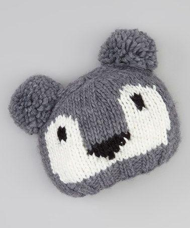Look what I found on #zulily! Gray Koala Beanie by San Diego Hat Company #zulilyfinds