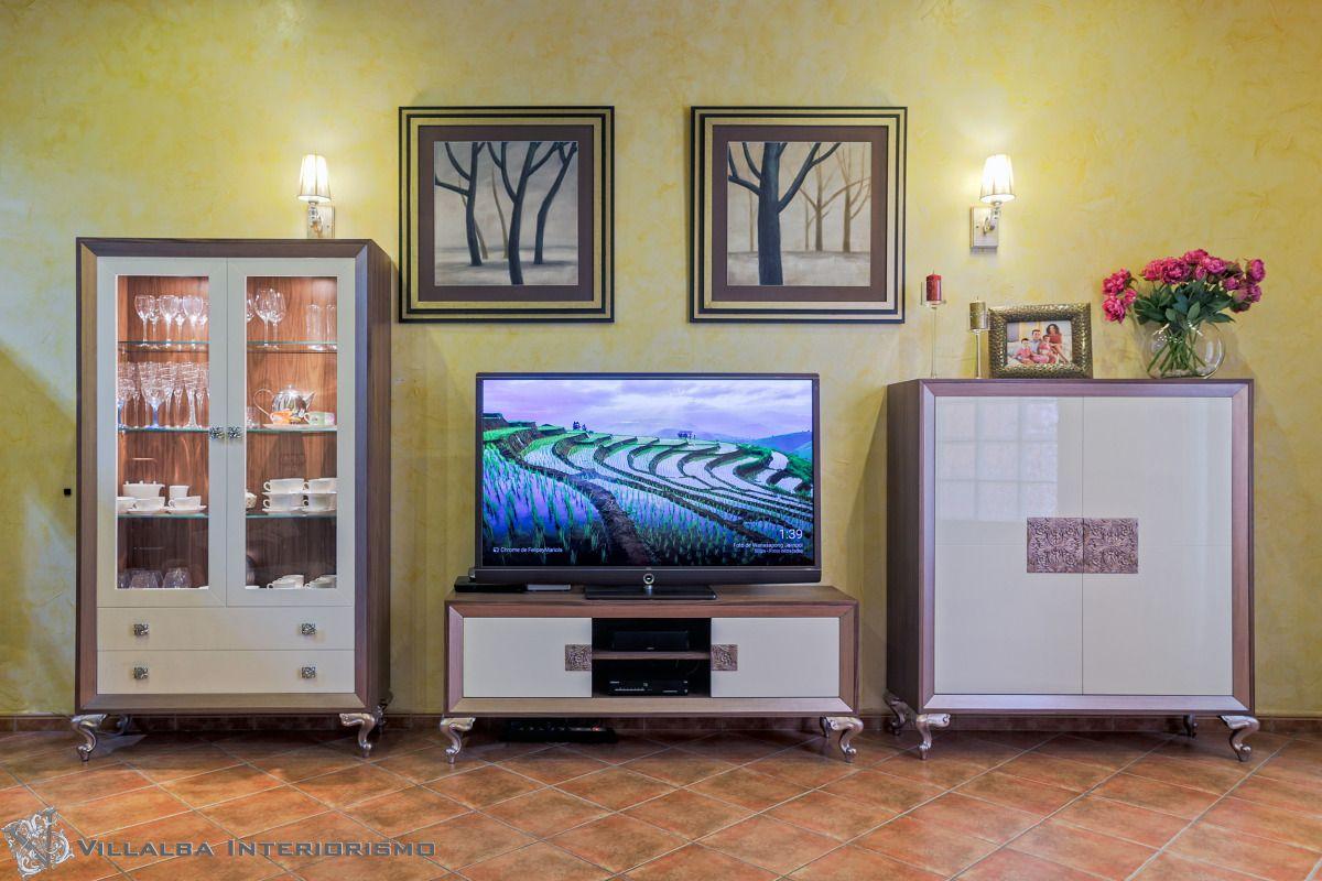 2cdd50414ea Composición muebles TV. para el salón - Villalba Interiorismo ...