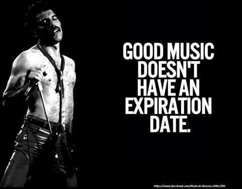 Good music never dies                                                       …                                                                                                                                                                                 More #freddiemercuryquotes