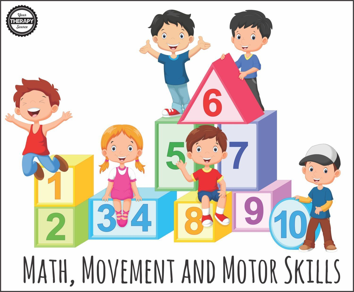 Math Movement And Motor Skills