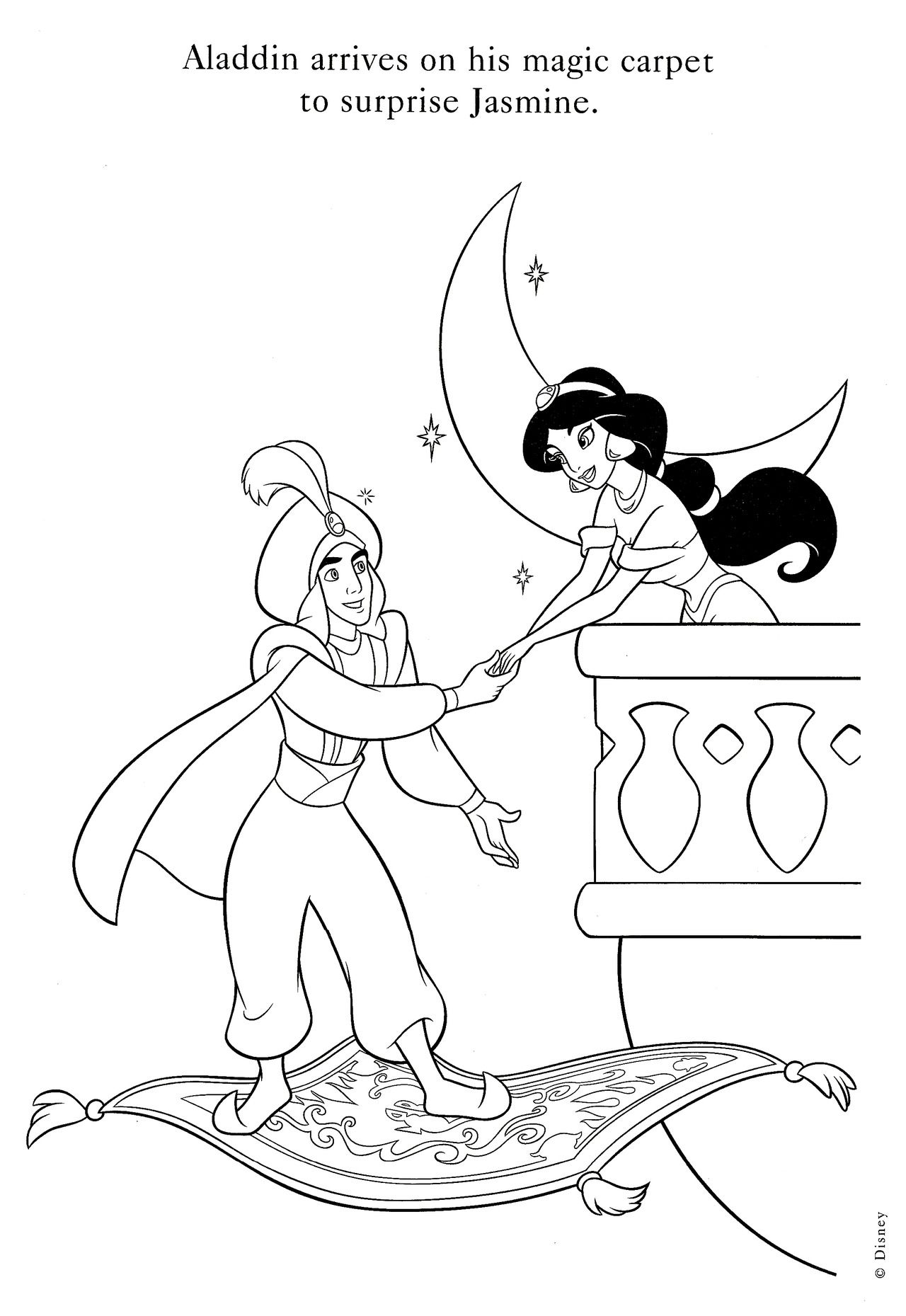 Disney coloring pages eyfs aladdin pinterest coloring pages