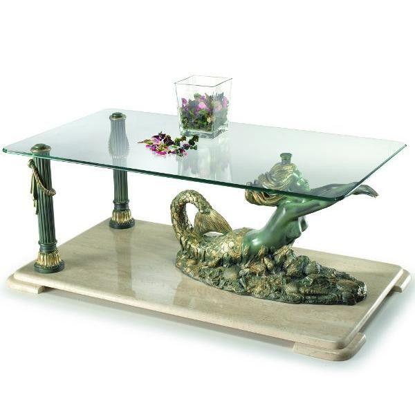 mesa de centro sirena