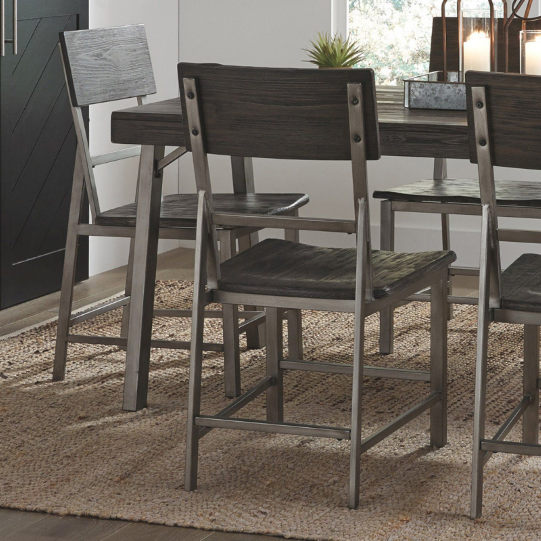 Signature Design By Ashley Raventown Dining Side Chair  Set