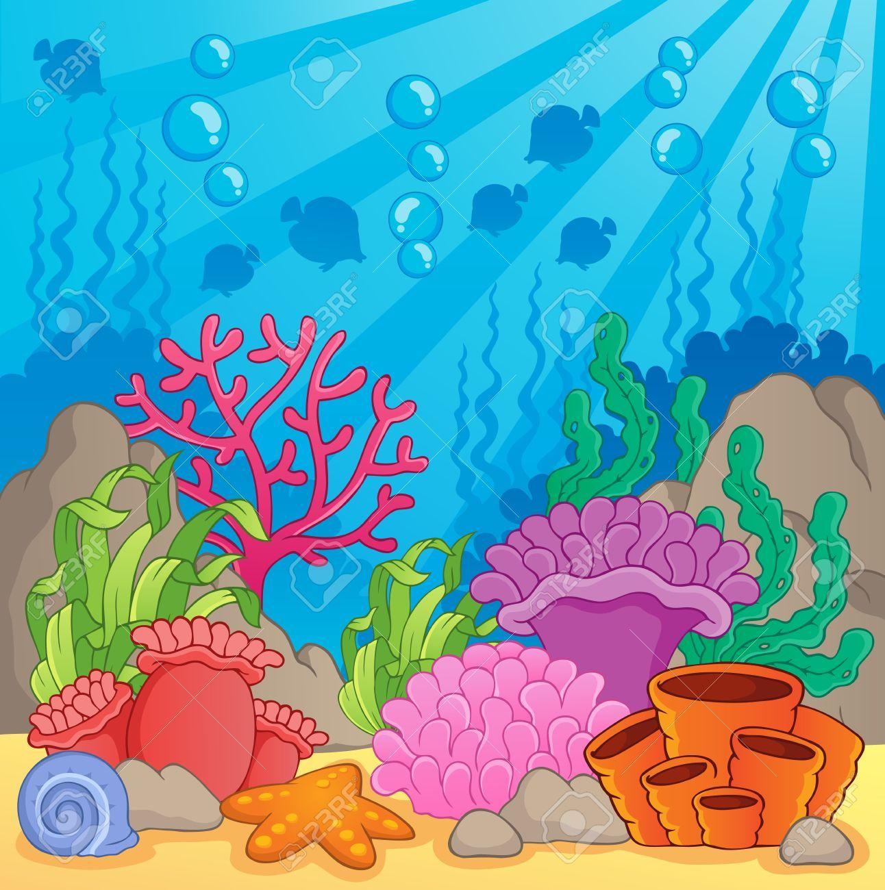 Pin De Suzanne Bruno En Creatividad Mar Animado Dibujo Del Mar Fondo De Mar