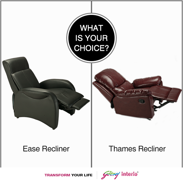 Which Recliner Speaks Your Style Make A Choice Godrej Interio Sofa Livingroom Furniture Sofa Ma Buy Home Furniture Sofa Makeover Home Furniture Online