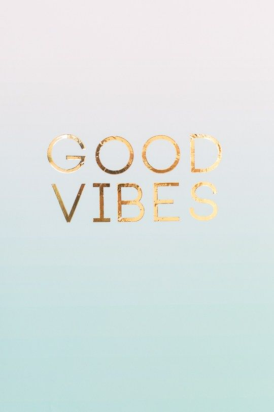 Diy Gold Foil Wall Art With Free Printables Good Vibes Wallpaper Foil Wall Art Gold Foil Wall Art