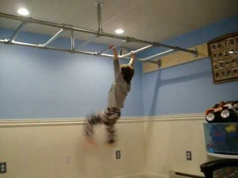 Nickyu0027s New Indoor New Monkey Bars 1 | PopScreen