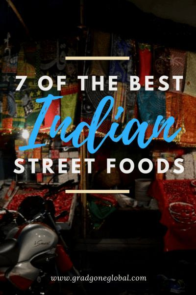 7 of the Best: Indian Street Foods – Grad Gone Global