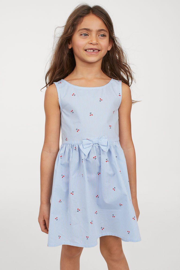 ee16171b24ef7 H&M Cotton Dress - Blue   2T-16 Special Occasion Dresses   Dresses ...
