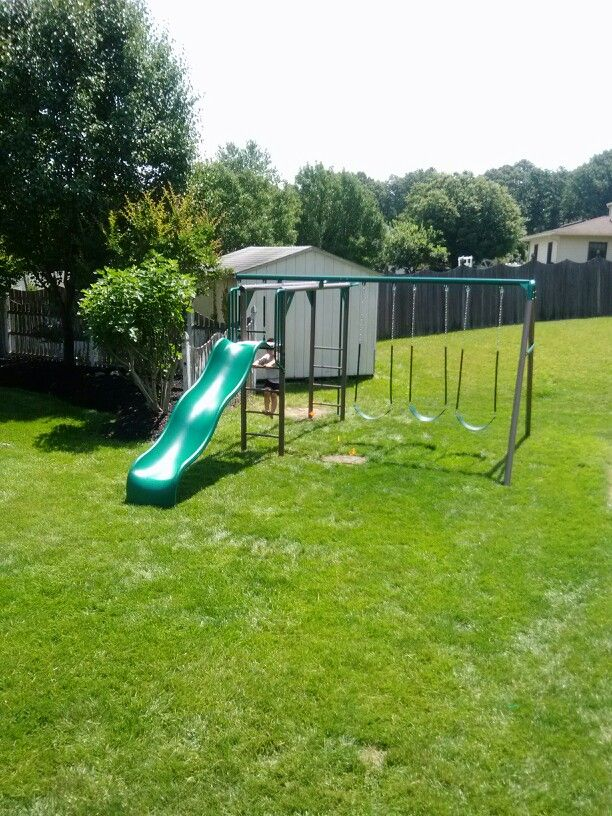 Lifetime Monkey Bar Adventure from Costco installed in Sewell, NJ.