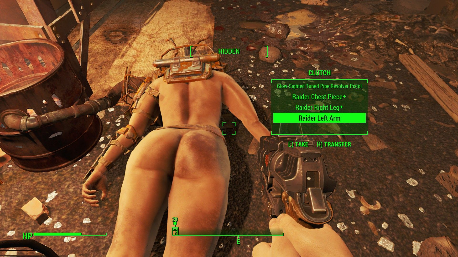 FALLOUT 4 modded  Glorious Female Nude Mod  | FALLOUT 4
