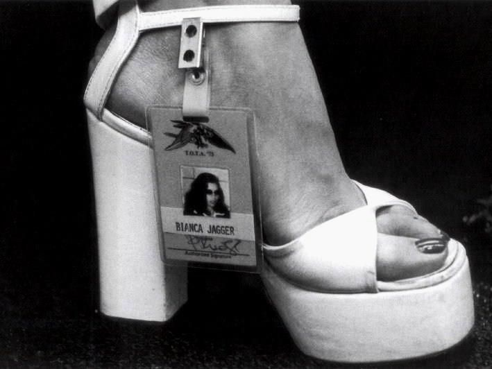 My name is Bianca Jagger.