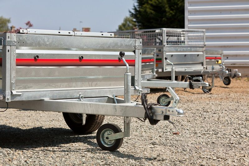 Galvanised Box Trailers