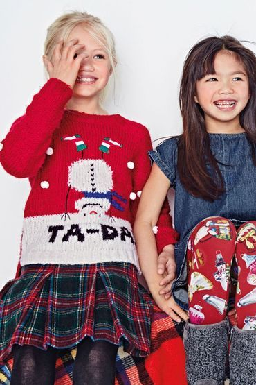 Buy Kids Next Red Upside Down Snowman Sweater 3 16yrs Online