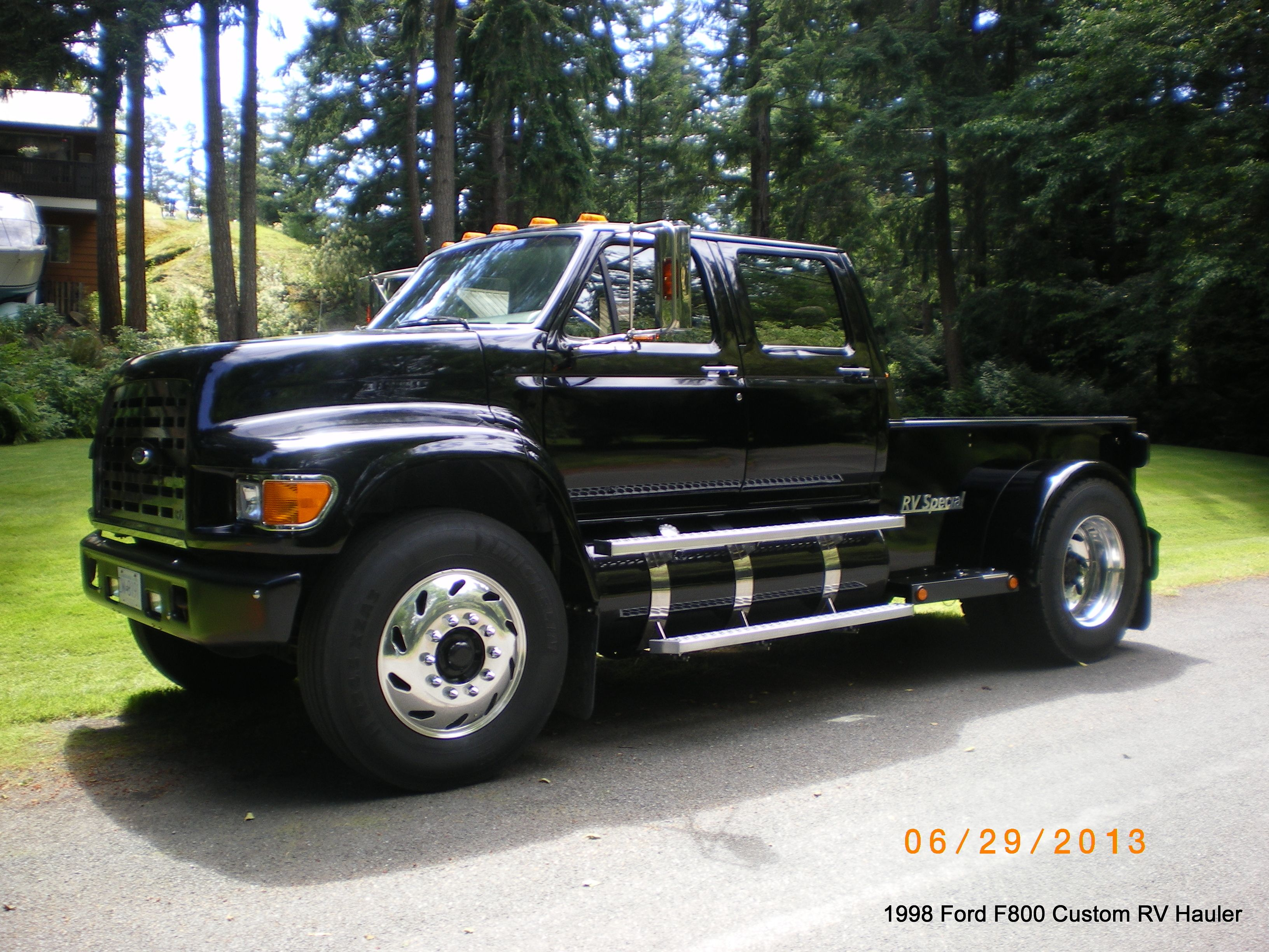 Custom Ford F800 PU RV Hauler | Toy's I Love... | Ford ...