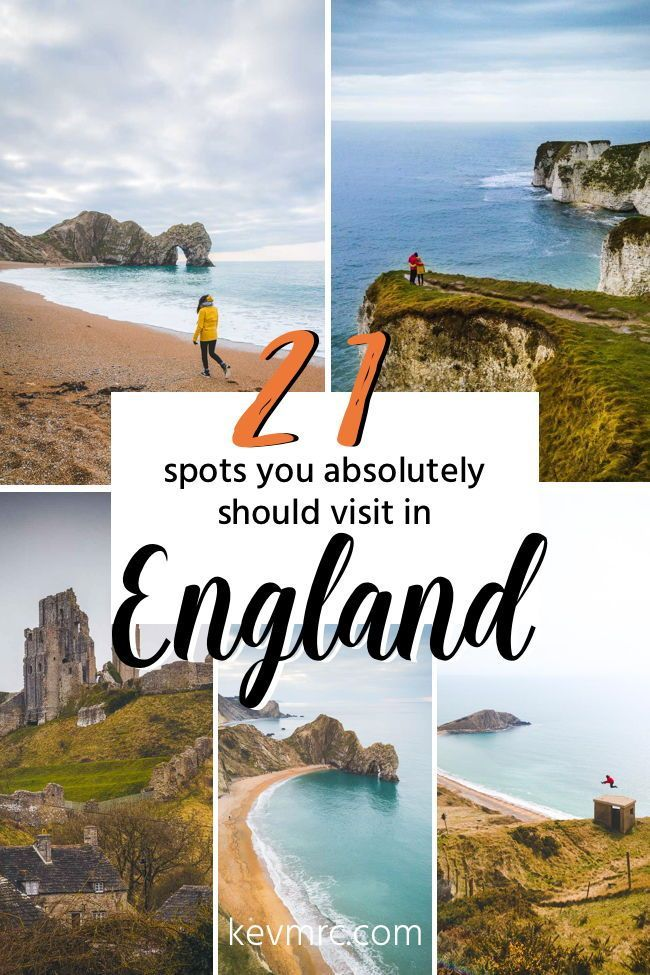 21 spots you absolutely should visit in England. The Jurassic Coast is an incredibly beautiful part of England, full of natural wonders. If you're looking for places to see on the Jurassic Coast, this is the perfect article for you! Best things to do in England | Day trips from London | England bucket list | Best things to do on the Jurassic Coast | England travel nature | England travel road trips