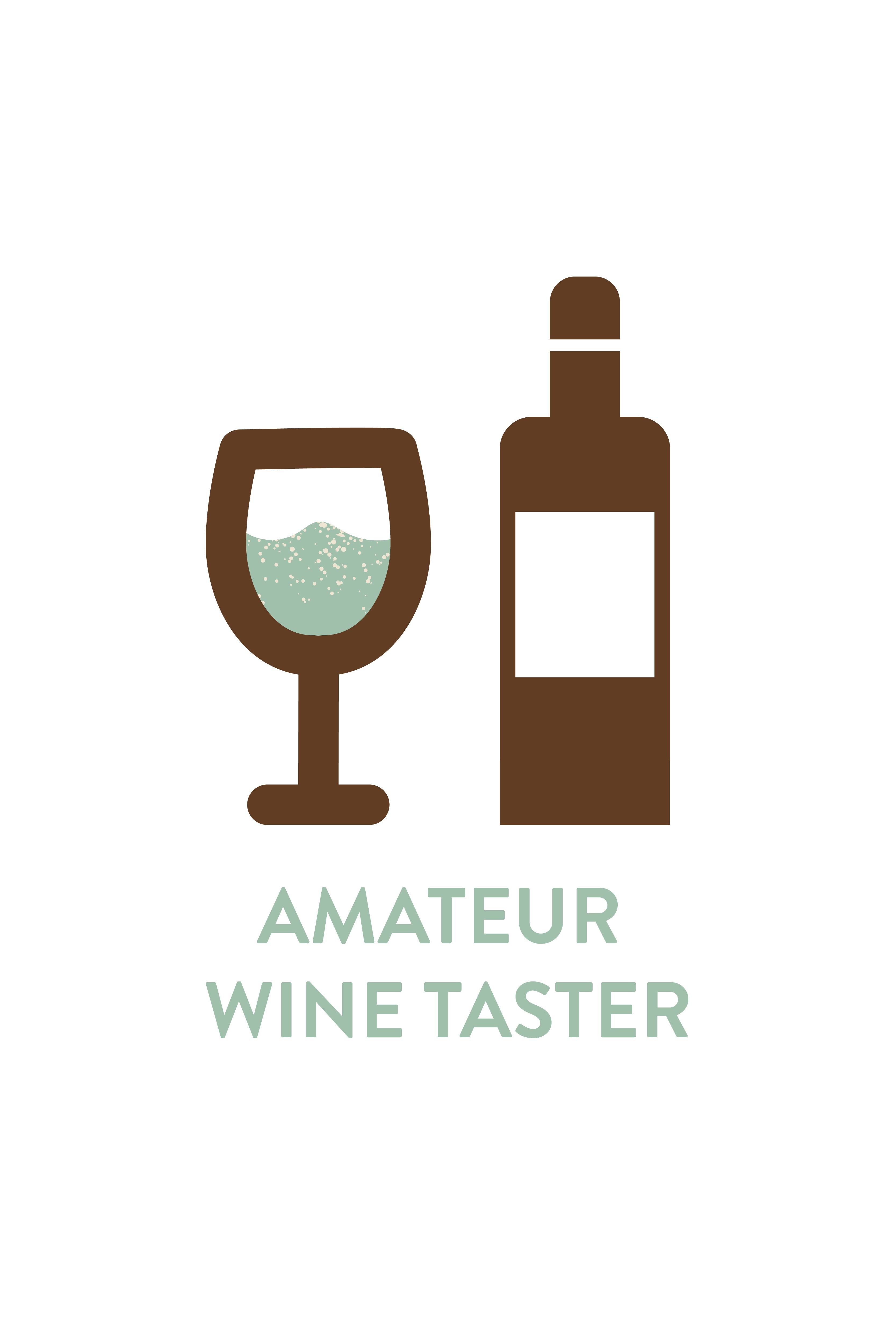 Amateur Wine Taster Icon | Resume Branding | Graphic Designer ...