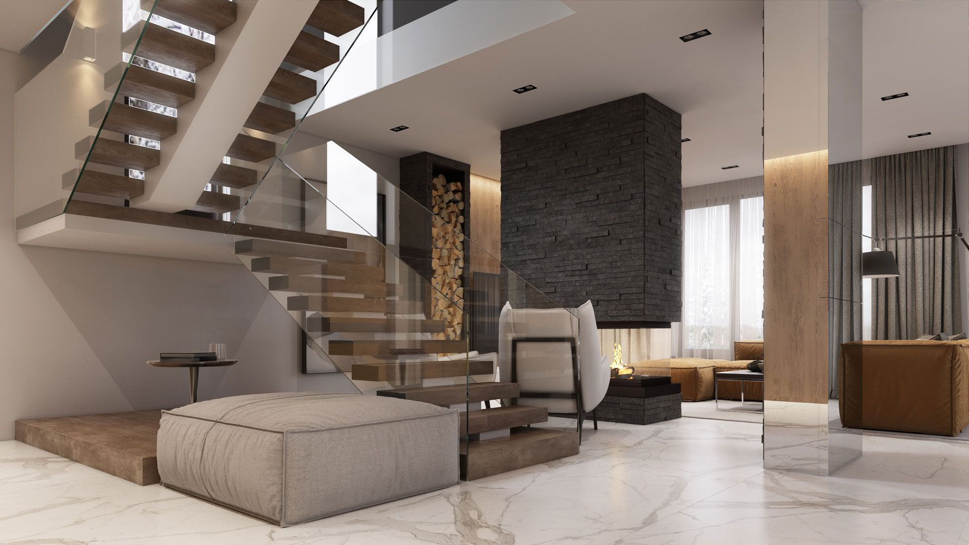 Forest House Iqosa Forest House House International Interior Design