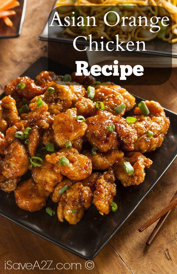 Asian Orange Chicken Recipe Yum Pinterest Orange Chicken