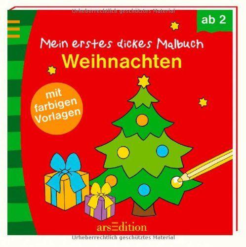 Mein erstes dickes Malbuch Weihnachten (Malbuch ab 2 Jahren) von Ingrid Bräuer http://www.amazon.de/dp/3845804475/ref=cm_sw_r_pi_dp_SCenub1KXQ1ZY