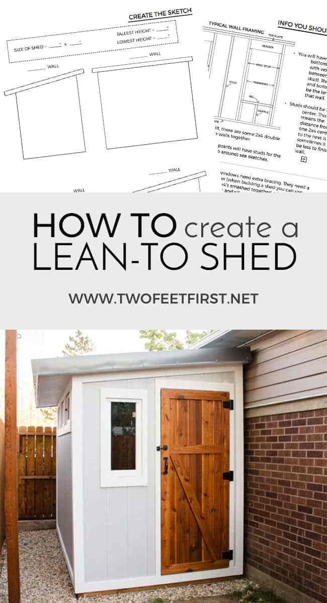 Create A Shed Blueprint Aka The Plans Garden Shed