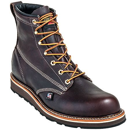 Goodyear Welt EH Wedge Sole Work Boots