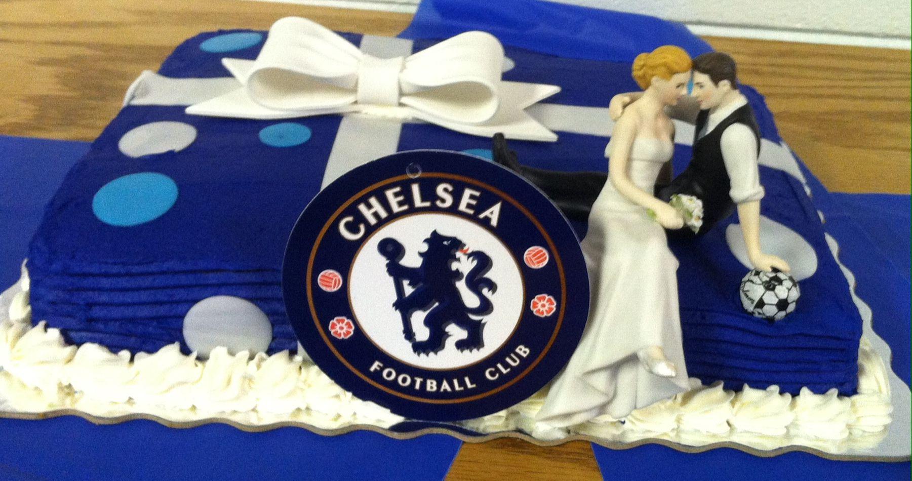 Chelsea Pinterest: Soccer Grooms Cake -Chelsea FC