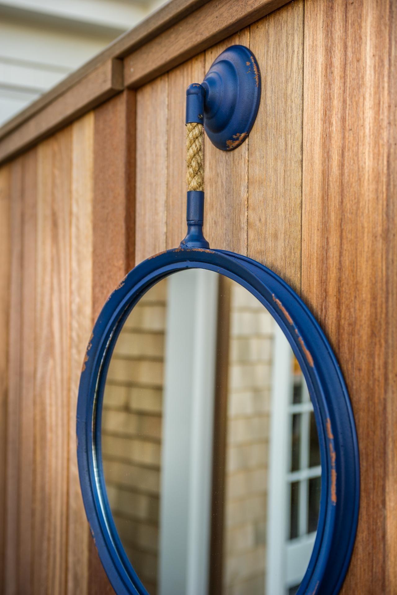 outdoor shower mirror