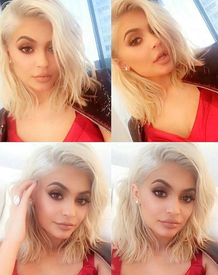 Kylie Blonde Hair Platinum Blonde Hair Short Platinum Blonde Hair Kylie Jenner Blonde Hair