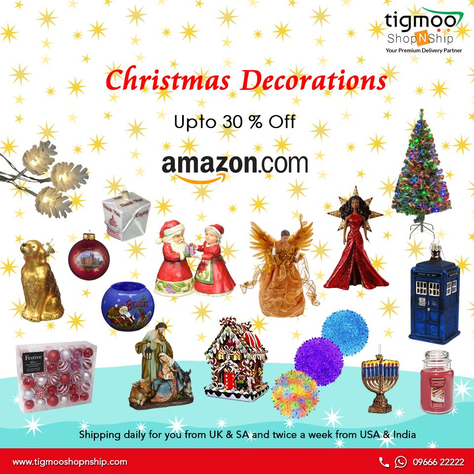 Light Up And Decorate Your Home This Christmas With Amazon Christmasdecorations And Save Upto 30 Http Amzn To Seasonal Decor Decor Christmas Decorations
