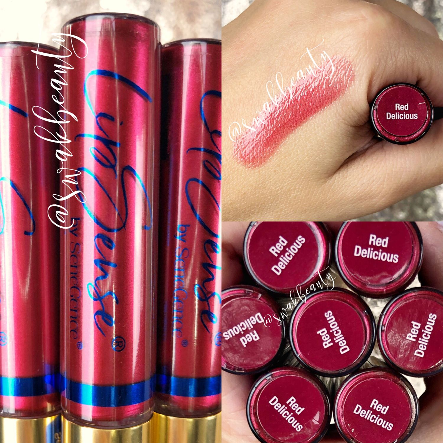 Lipsense Red Delicious Gloss Limited Edition In 2020 Red
