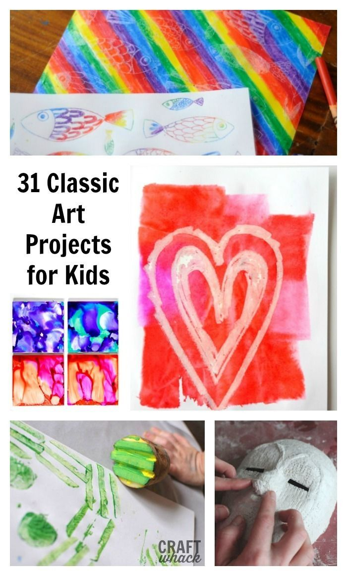 Classic Art Projects For Kids | Art Projects | Projects for ...