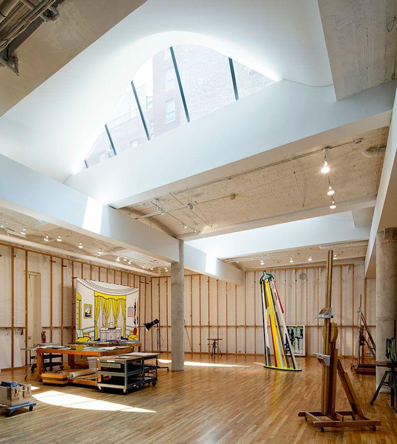 artists studio lighting. Artist Residence \u0026 Studio By Caliper Artists Lighting H
