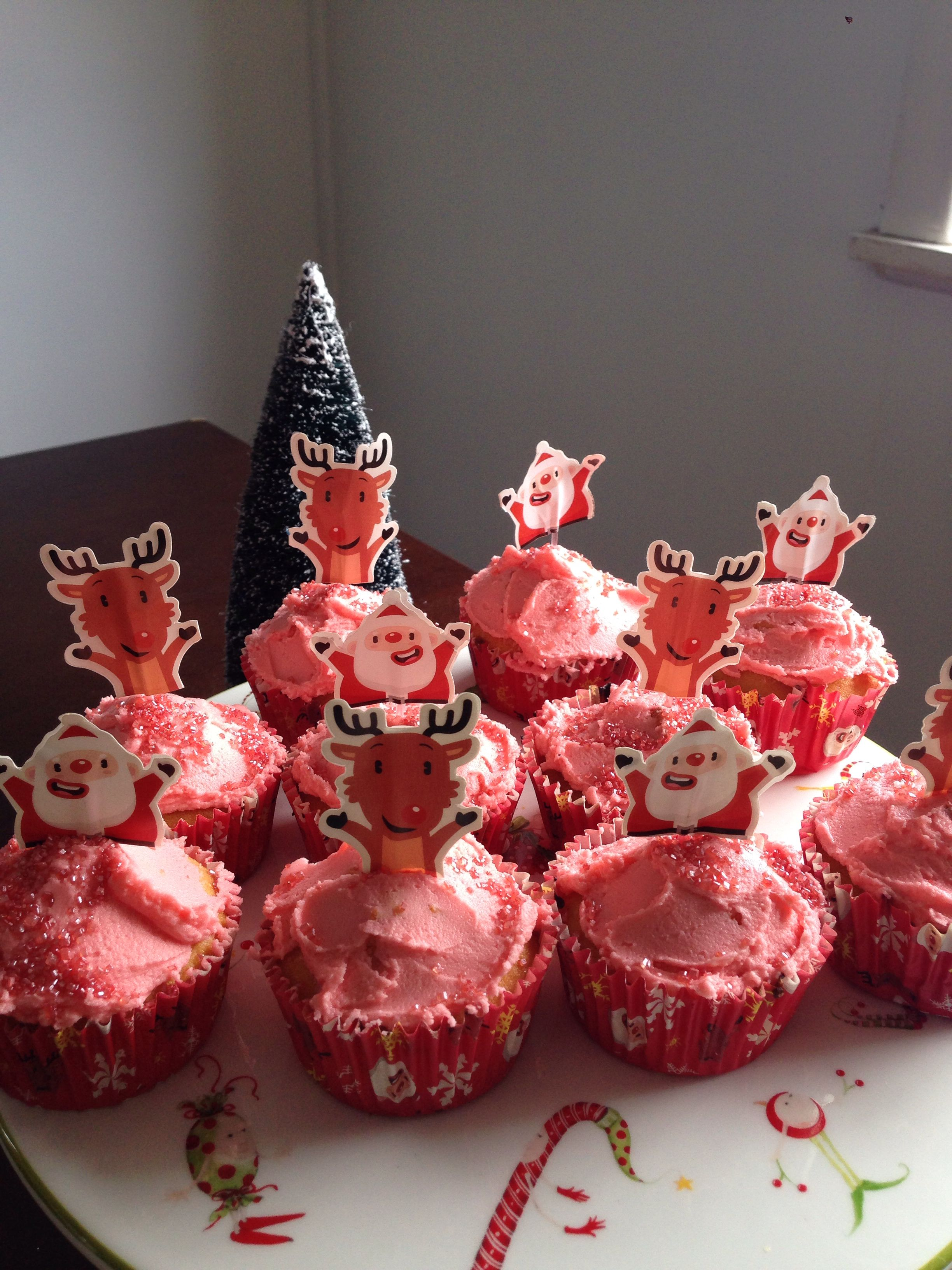 Christmas cupcake decorations from woolworths christmas